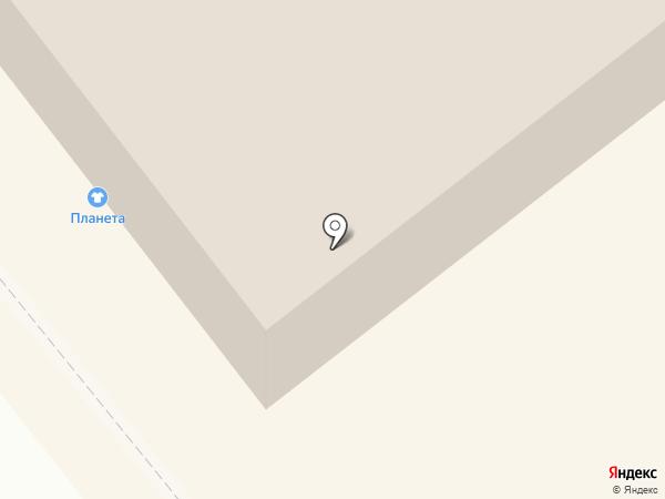МегаЦент на карте Кургана
