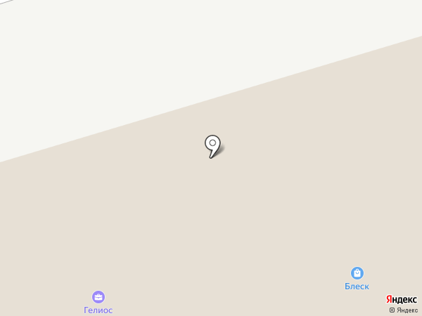 Посудный городок на карте Кургана