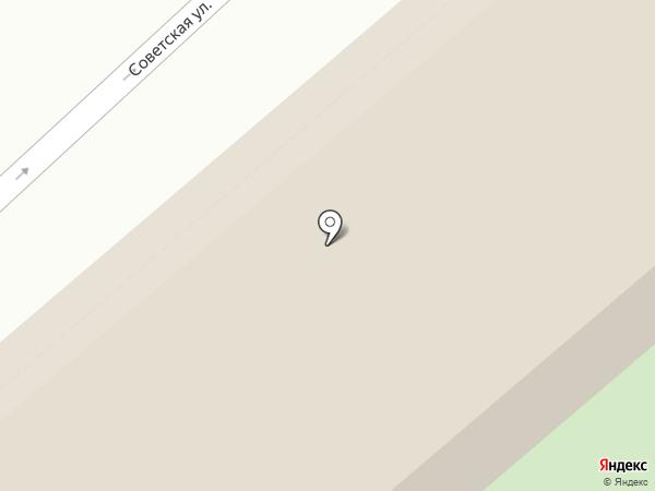 Центральный на карте Кургана