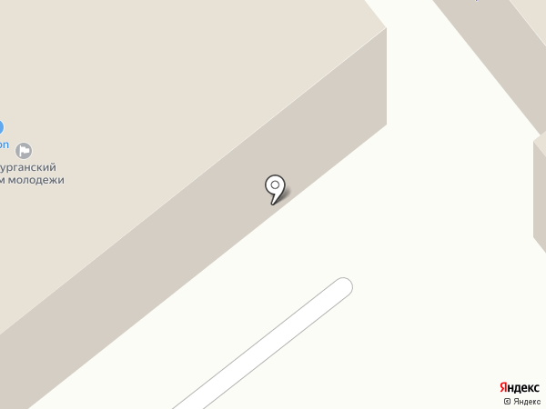 Курганский дом молодежи на карте Кургана