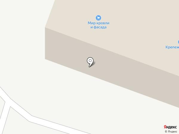 Крепежный двор на карте Кургана