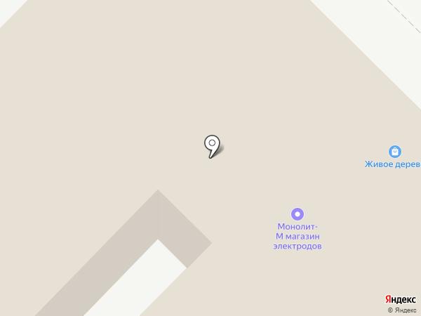 Тюменский электрод на карте Кургана