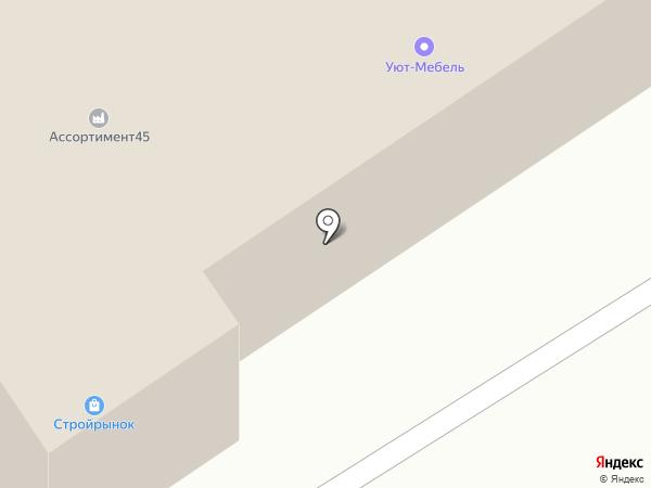 Центр широкоформатной печати на карте Кургана