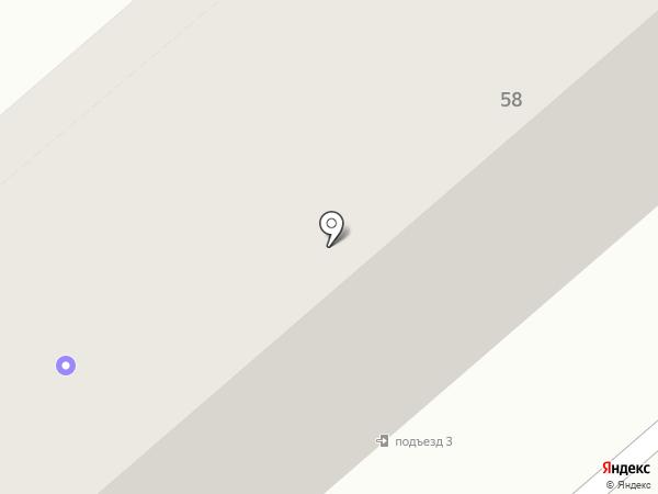 ЖСК №1 Управления Кургансельстрой на карте Кургана