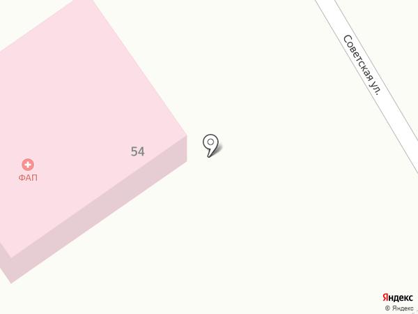 Фельдшерско-акушерский пункт на карте Солобоево
