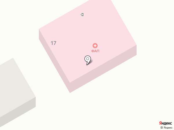 Большечаусовский фельдшерско-акушерский пункт на карте Большого Чаусово