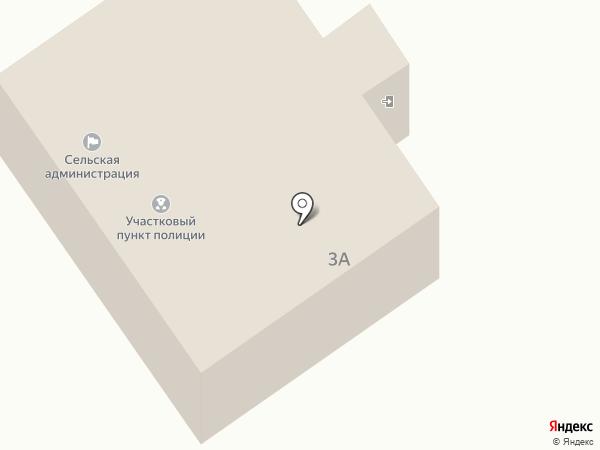 Участковый пункт полиции на карте Большого Чаусово