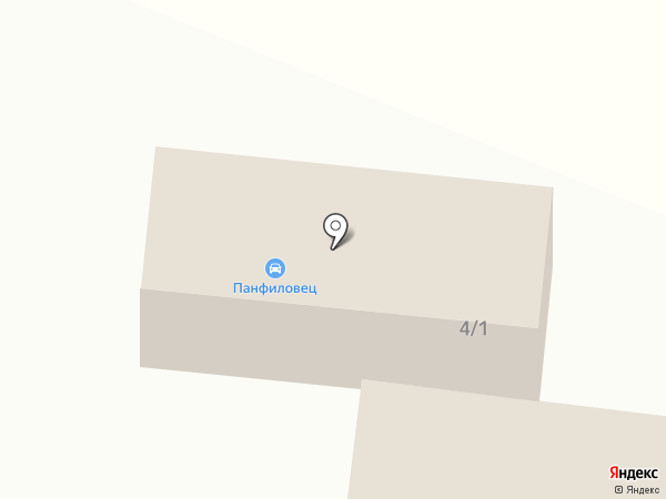 Панфиловец на карте Кургана