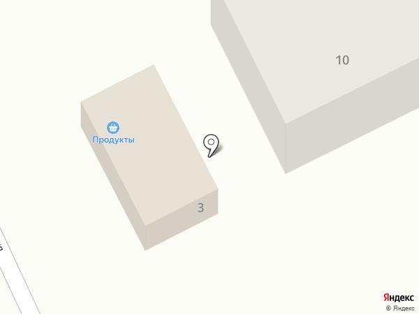 Магазин продуктов на Лесной на карте Большого Чаусово