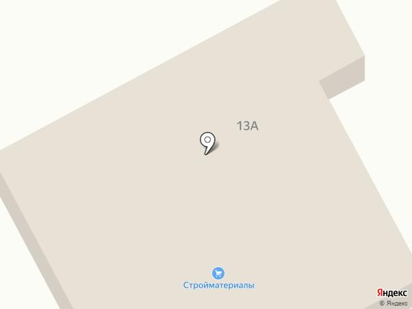 Магазин хозяйственных товаров на карте Придорожного