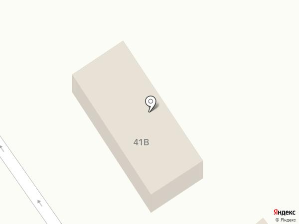Автостоянка на карте Кургана