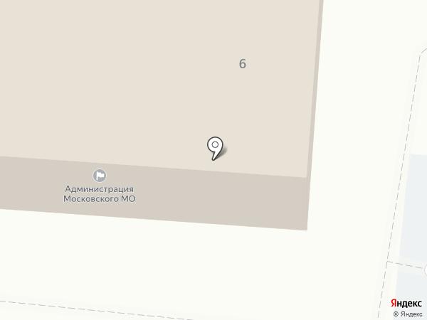 Администрация Московского муниципального образования на карте Московского