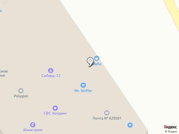 СИБИРЬ-72 на карте Московского