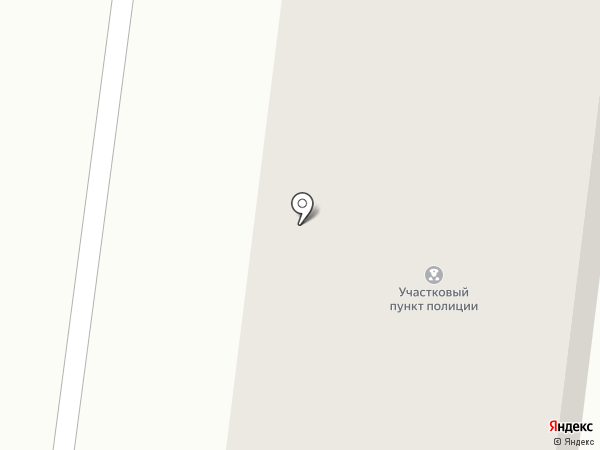 Участковый пункт полиции на карте Московского
