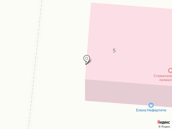 Стоматологическая поликлиника на карте Московского