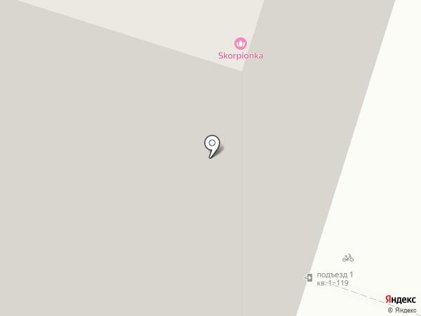 Москва на карте Тюмени