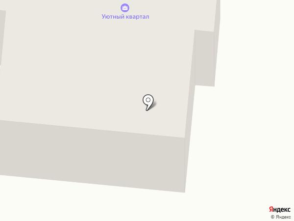 Уютный квартал на карте Тюмени