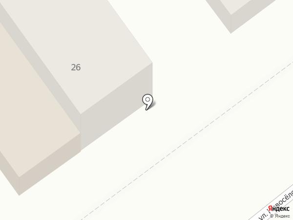 Атон на карте Тюмени