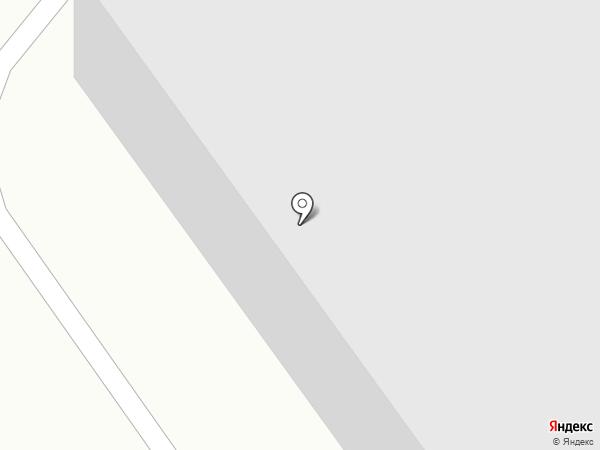 Московский на карте Тюмени