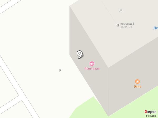 Фантазия на карте Тюмени