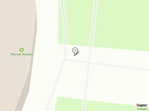 Цветочный магазин на карте Тюмени