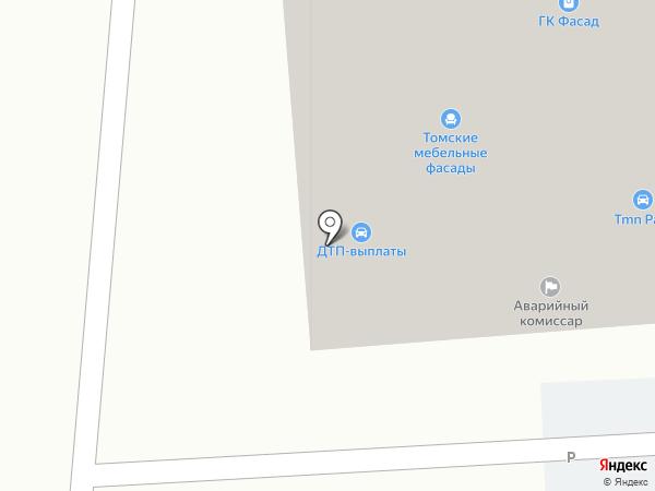 Бон Плафон на карте Тюмени