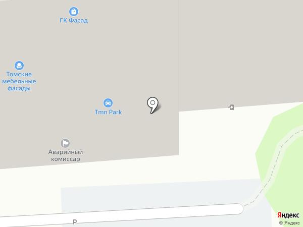 ЗЕЛЕНЫЙ ДВОРИК на карте Тюмени