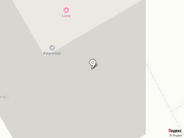 Медведь на карте Тюмени