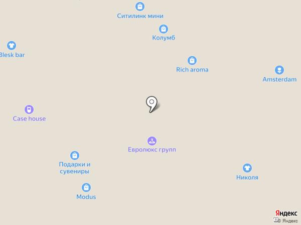 Сувениры & Подарки на карте Тюмени