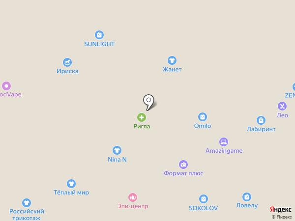 Modus на карте Тюмени