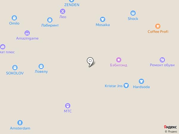 Магазин по продаже нижнего белья и колготок на карте Тюмени