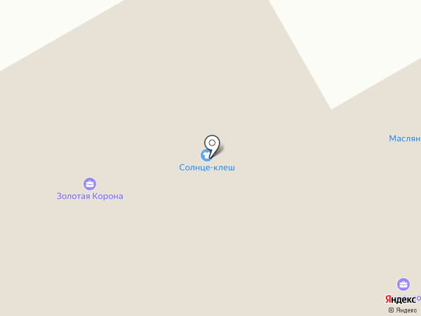 Ателье по ремонту и пошиву одежды на карте Тюмени