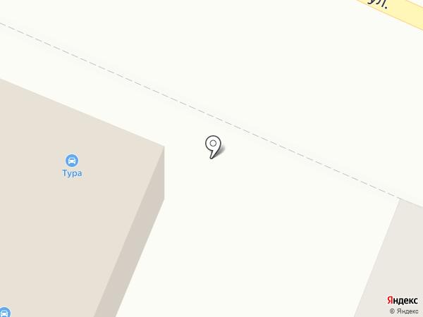 Сеть круглосуточных автомоек на карте Тюмени