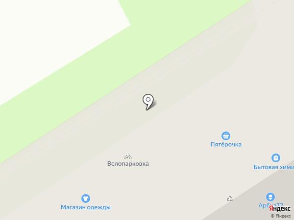 Студия маникюра на карте Тюмени
