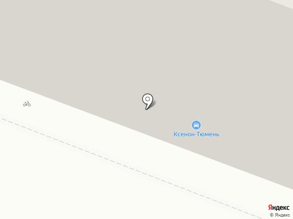 Старая Тюмень на карте Тюмени