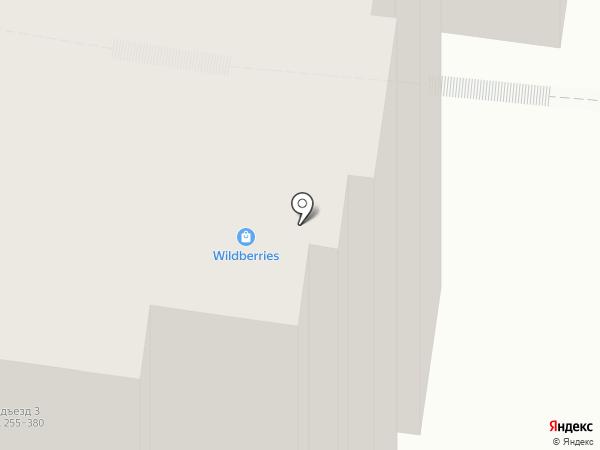 Булочная на карте Тюмени