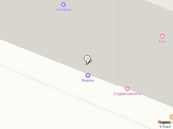 Арбарис на карте Тюмени