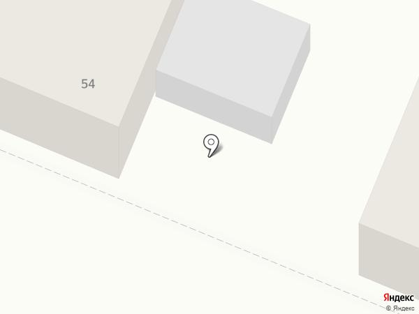 Абрис на карте Тюмени