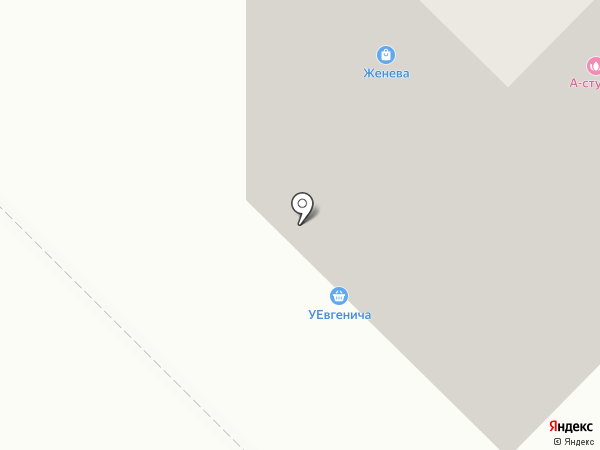 Ромашка на карте Тюмени