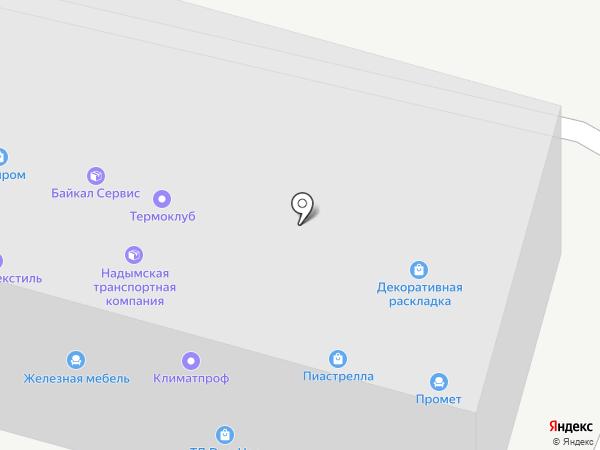 СтройТехСнабжение на карте Тюмени