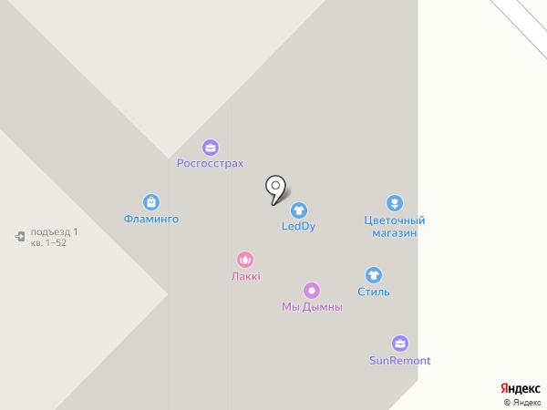 Warrior на карте Тюмени