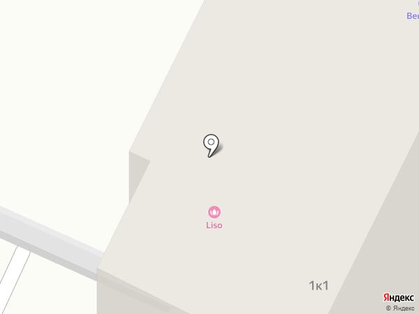 Тюменские сети на карте Тюмени