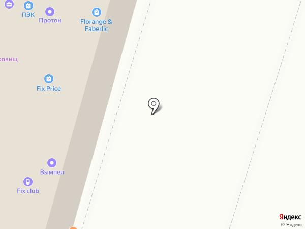 ПКПРО на карте Тюмени