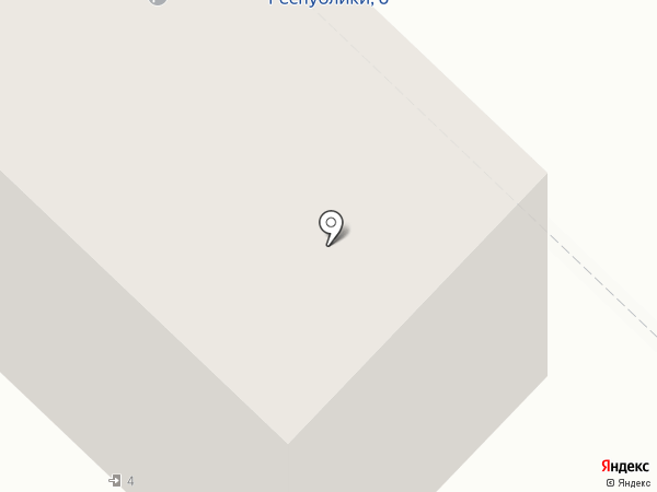 Судебный участок №4 на карте Тюмени
