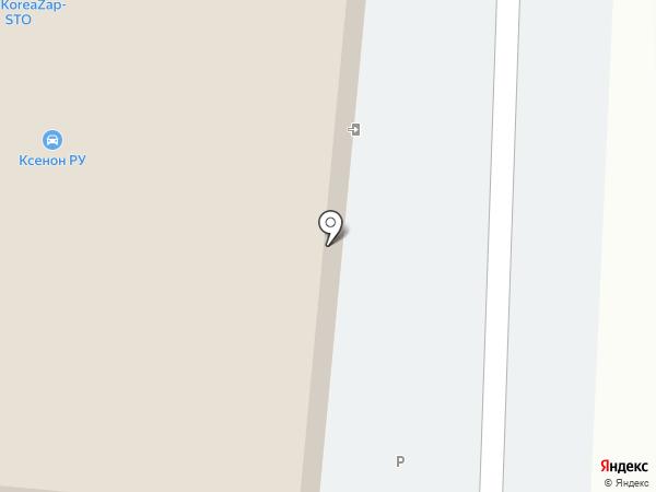 Реновод на карте Тюмени