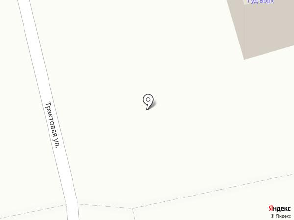 Гуд ворк на карте Тюмени