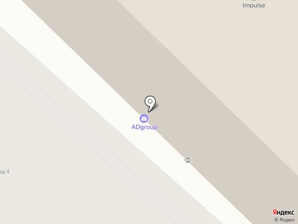 Фабрика наклеек на карте Тюмени
