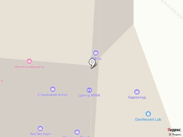 Я Смогу на карте Тюмени