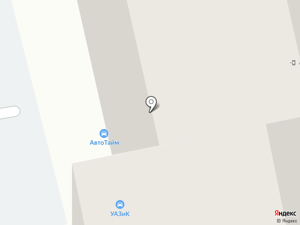 Шелест на карте Тюмени