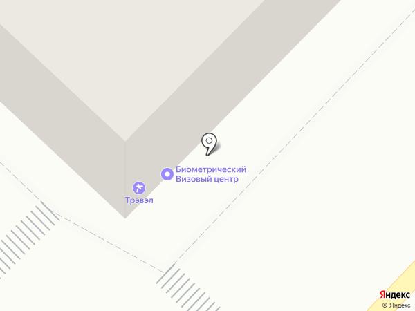 АВИА ТРЭВЭЛ на карте Тюмени